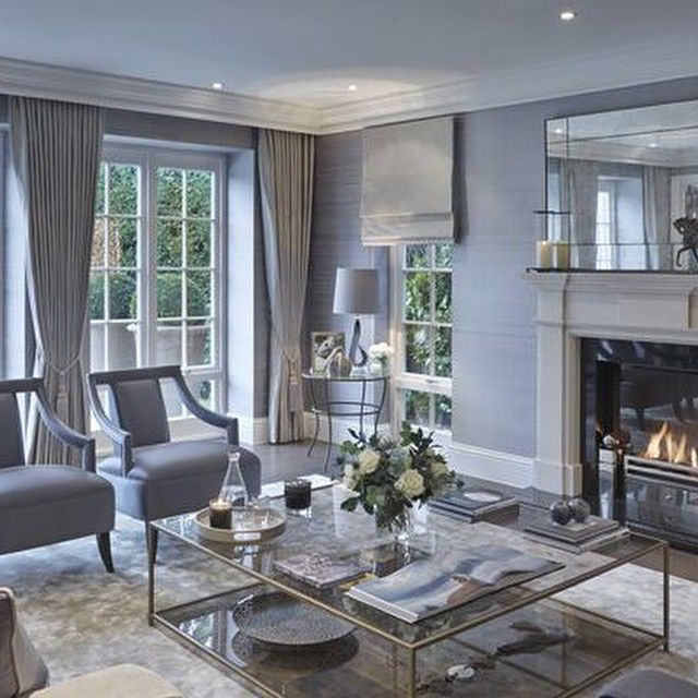 Classic Contemporary Living Room By Sophie Paterson