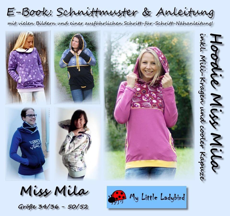 7efd4bcb6c Produktfoto von My Little Ladybird für Schnittmuster Hoodie Miss Mila