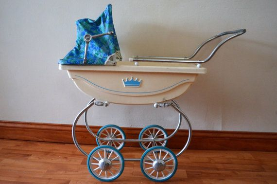 Vintage Doll Stroller Buggy Baby Carriage South Bend