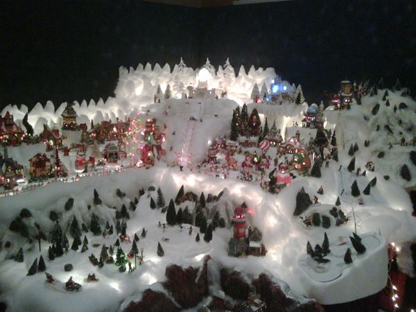 Christmas Mountain Village.Christmas Mountain Display Hot Wire Foam Factory I