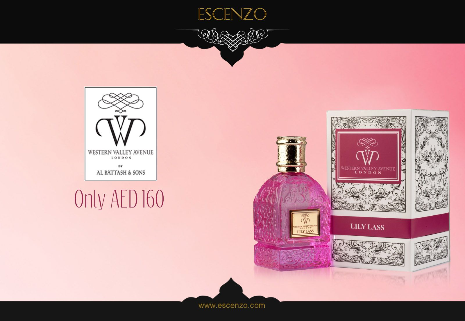 Get Western Valley Lily Lass for women on our price 160 AED. Order: https://escenzo.com/en/western-valley-avenue-london/western-valley-lily-lass-edp-75ml  إشتري عطر ويسترن فالي للمرأة بسعر 160 درهم إماراتي فقط إطلب الأن https://escenzo.com/en/western-valley-avenue-london/western-valley-lily-lass-edp-75ml