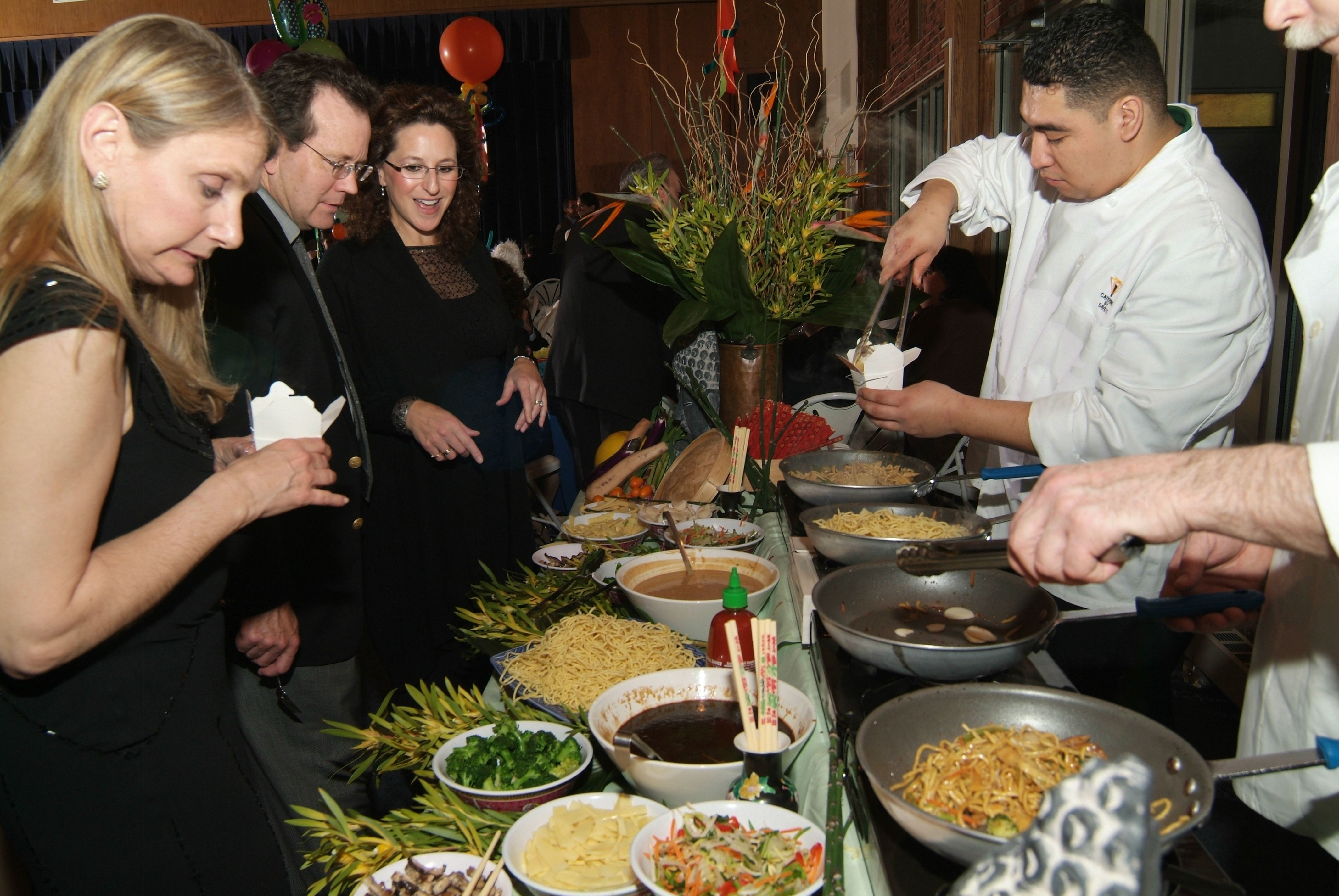 Nice Interactive Dinner Party Ideas Part - 8: Asian Noodle Bar - An Interactive Dinner Station! Davidu0027s Catering And  Events