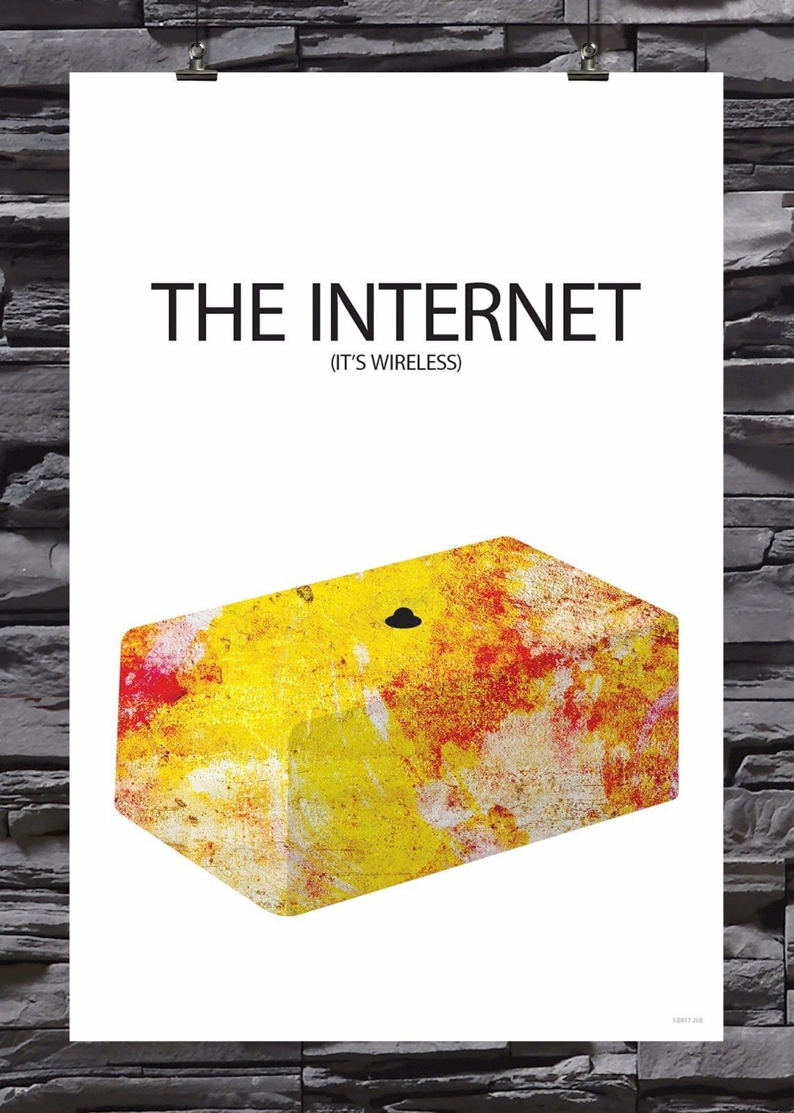 The INTERNET (It\'s Wireless) | The IT Crowd | Poster | Parity Fan ...