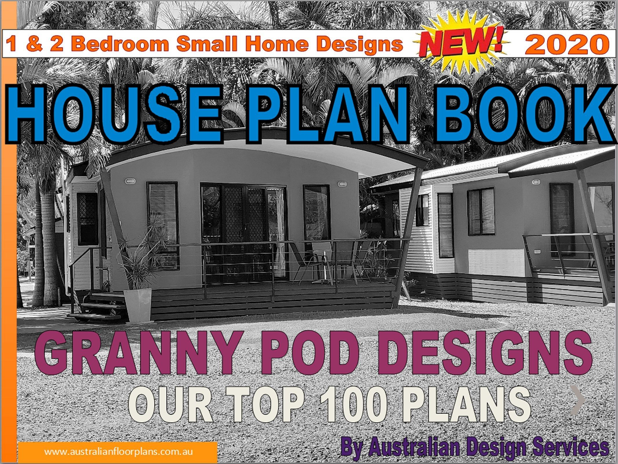 Granny Pods House Design Book Small and Tiny International Home Plans – house plans, house plans australia, small house plans,tiny plans