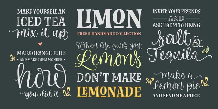 Limon Webfont Desktop Font Myfonts Myfonts Lettering Fonts Vintage Fonts