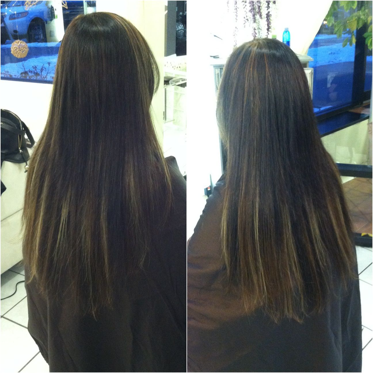 Color Cut Extensions Done By Owner And Socap Expert Dianna Call