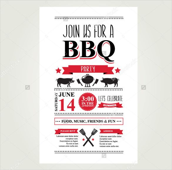 BBQ Menu Template u2013 22+ Free PSD, EPD Documents Download! Free - dinner menu templates free