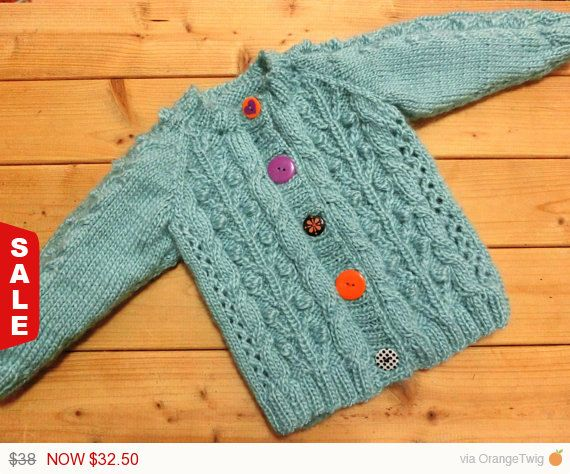 Sale Handmade Baby Cardigan Baby Sweater Hand by AmiAmiGocco