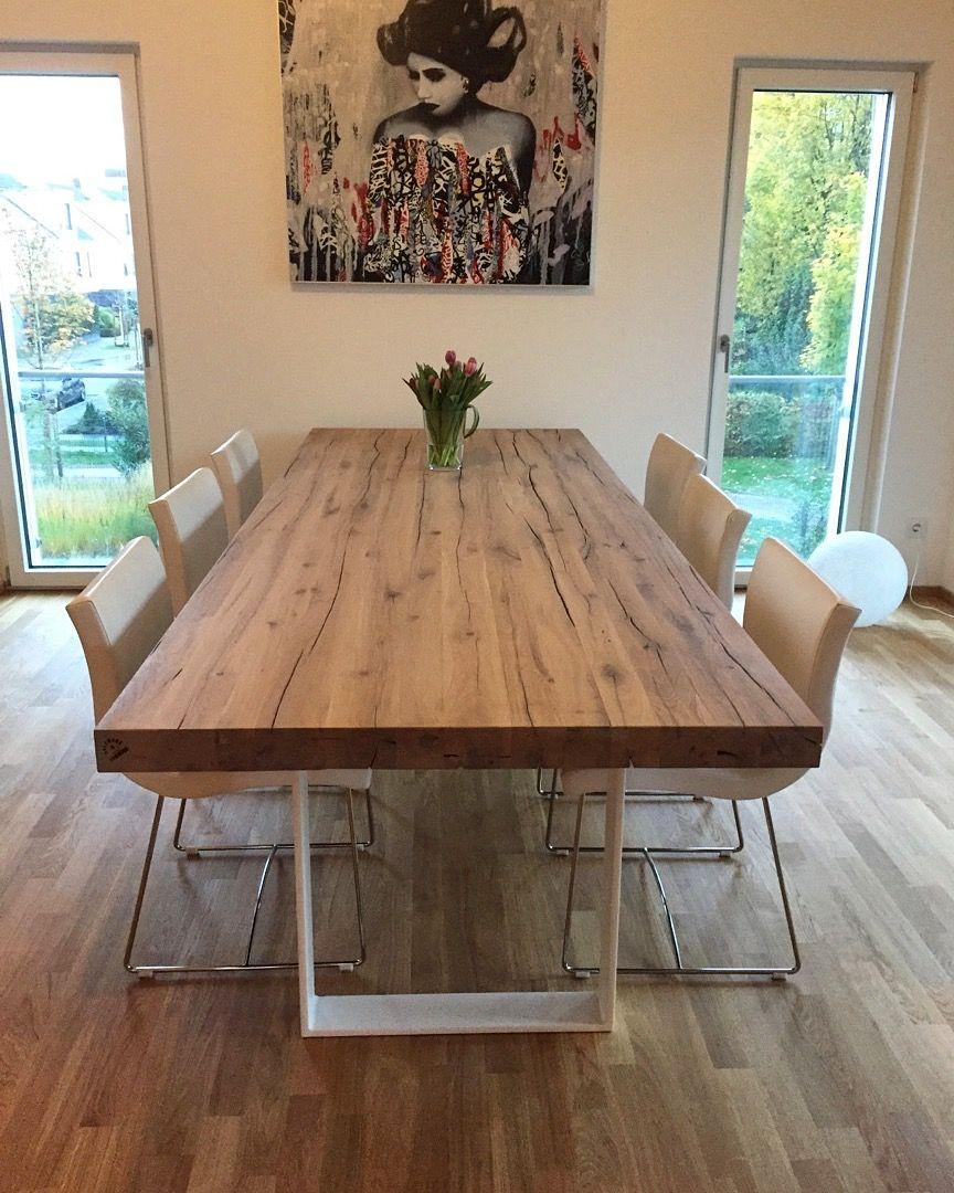 Esstisch Massivholztisch Holztisch Eichentisch Dinningtable