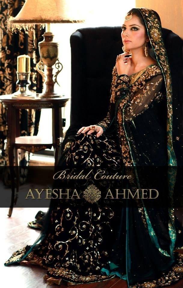 254e5faf8a dark green anarkali. dark green anarkali Pakistani Wedding Outfits, Bridal  ...