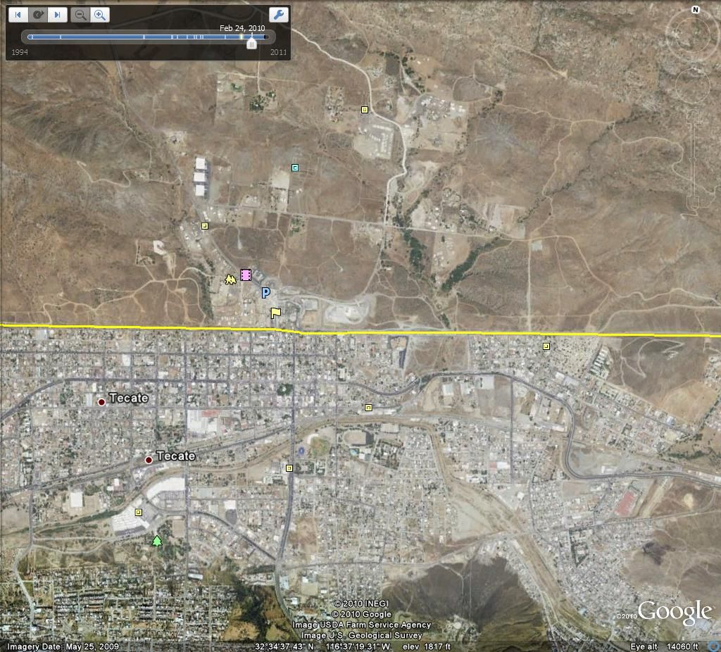 mexico us border map Google History and theory archive