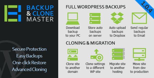 Download WordPress Backup & Clone Master v1.0.4 – Codecanyon (Latest Version)