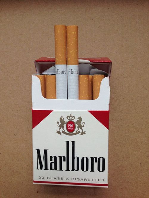 How much is a pack of Marlboro cigarettes in the UK