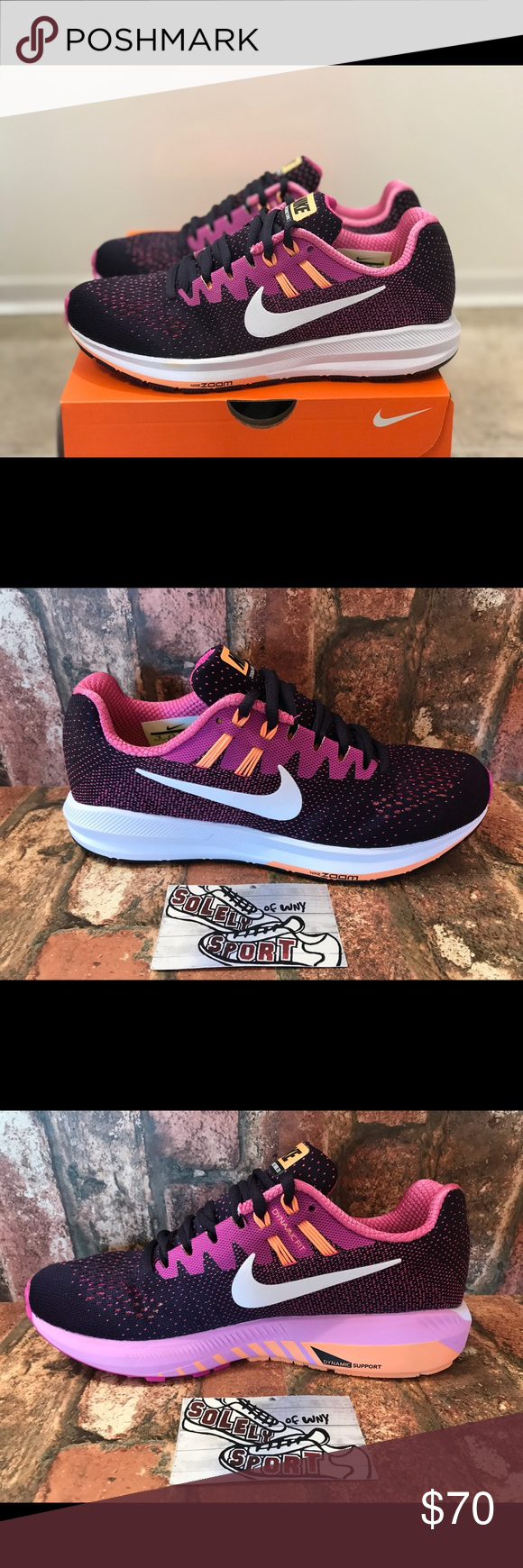 5033a433d6d66 Womens Nike Air Zoom Structure 20 Running Purple Brand - Nike Style - Zoom  Structure 20