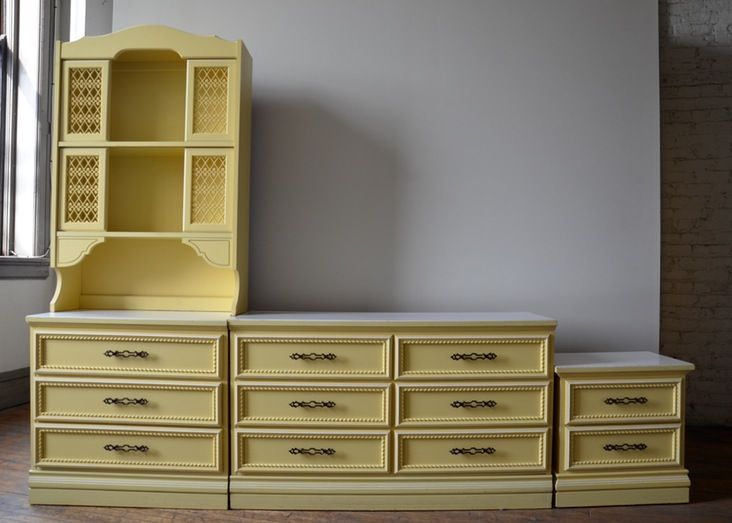Johnson Carper Vintage Spanish Bedroom Set Rare | Spanish bedroom ...