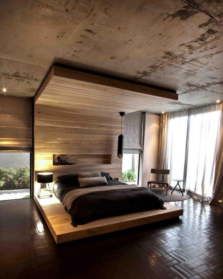 Cebecero de cama completo de madera | Cabeceros | Pinterest | Camas ...