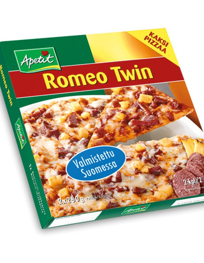 Romeo Twin pizza, Apetit