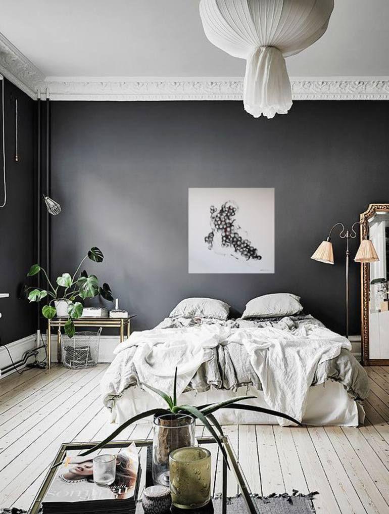 Transformation In Peace Painting In 2021 Gray Bedroom Walls Minimalist Bedroom Color Grey Bedroom Paint Minimalist white gray room paint
