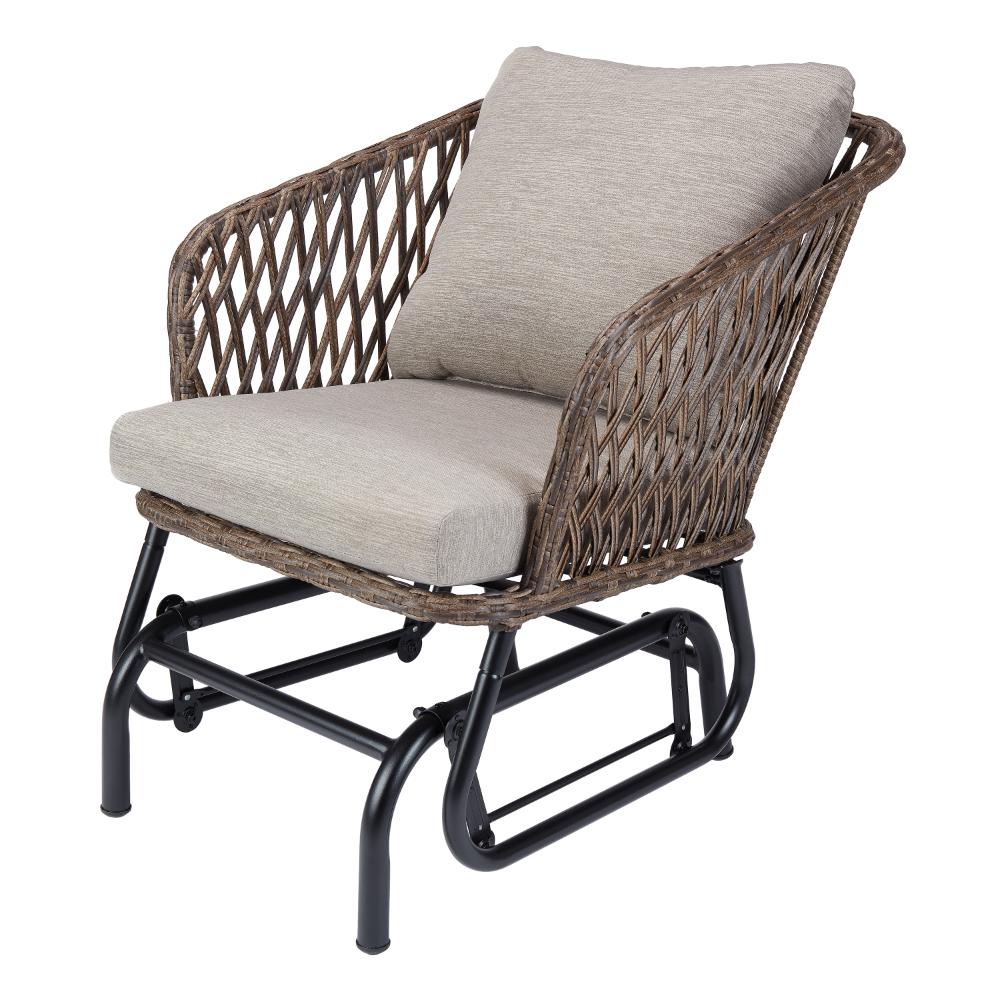 Patio Garden Outdoor Glider Chair Outdoor Wicker Chairs
