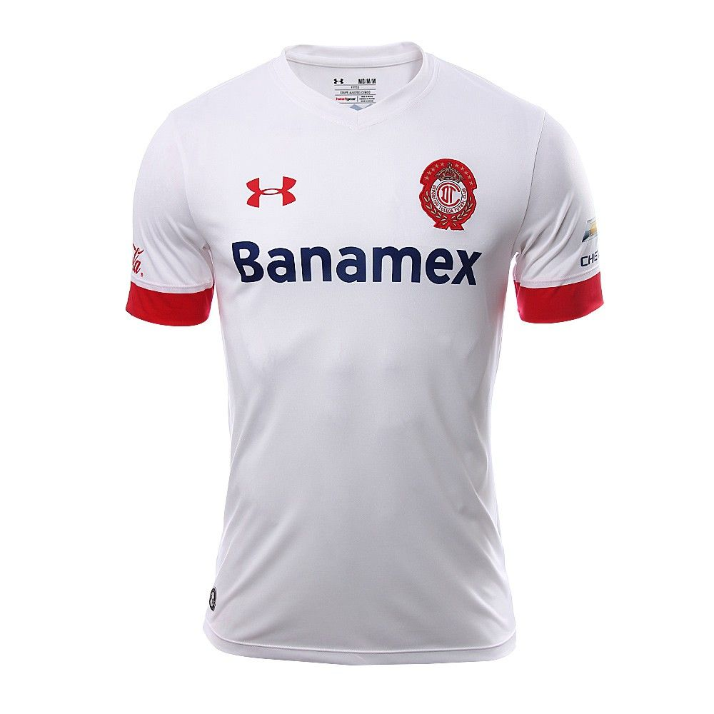 Deportivo Toluca FC (Mexico) - 2015/2016 Under Armour Away Shirt