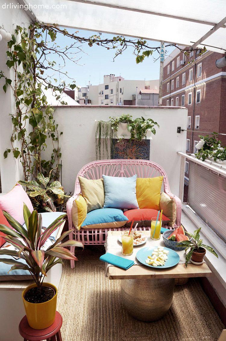 Casas con Good Mood: el hogar de María de Dr Livinghome | Terrasse ...