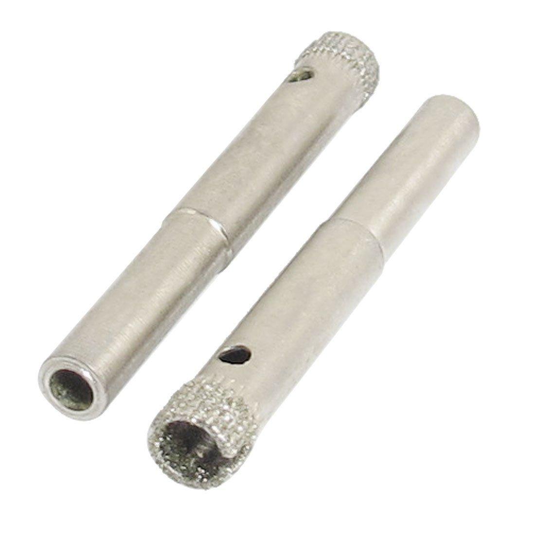 Diamond Coated Core Hole Saw Drill Bit Set Tools For Tiles Marble Glass 7mm 3 11 2pcs Drill Bits Glass Tile Ceramic Tiles