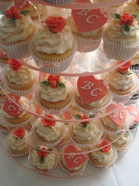 Wedding cupcakes | Wedding cupcake tower | Flickr - Photo Sharing!