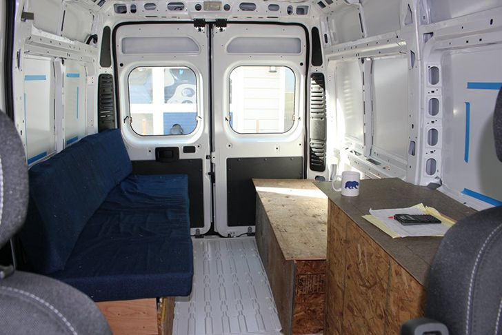 Detailed Walkthrough Of Converting A Cargo Van Dog Show