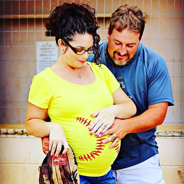 92c4a35635e04 Softball Maternity Shirt, Thanksgiving Maternity, Softball Baby Bump Tank  Top or Tee, Softball Mom ...