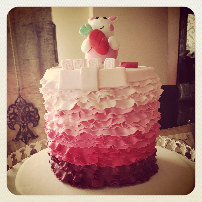 1'st birthday cake