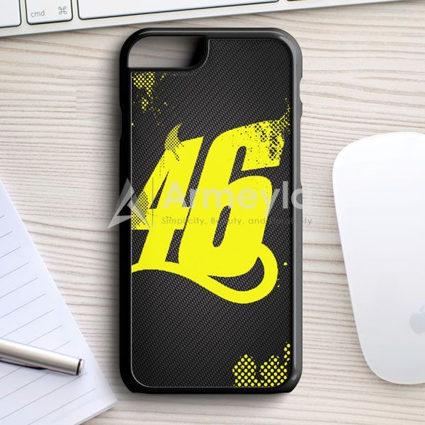 half off e05a0 647e0 Valentino Rossi Vr46 iPhone 7 Case   armeyla.com   Products   Iphone ...