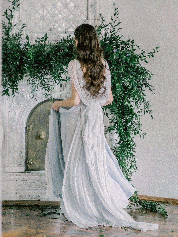 Blue wedding dress голубое свадебное платье the wedding dress