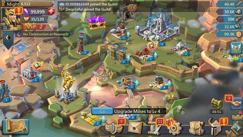 No Verification Lords Mobile Cheats and Hack Free Gems, Gold, Stone