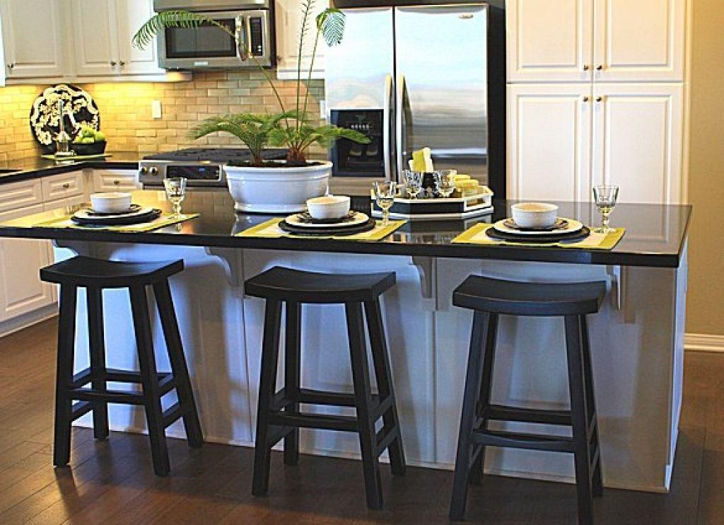 Choosing Stools For Kitchen Island Modern Kitchen Islands Design ...