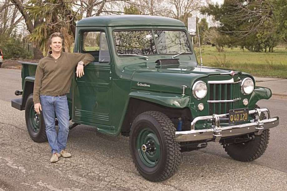 My Ride 1955 Willys 4WD Pickup Truck Pickup
