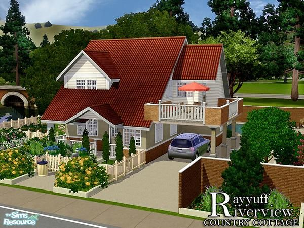 ayyuff's Riverview Country Cottage -Furnished- | TSR-SIMS 3