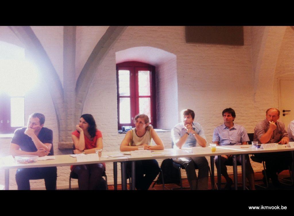 West-Vlaanderen, werkatelier 1 - te gast bij Streekhuis Tillegem in Brugge (4 september 2013)