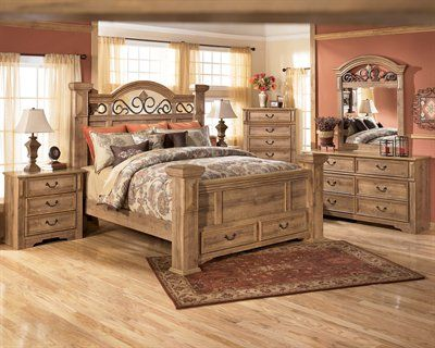 Signature Design By Ashley Whimbrel Forge Poster Bed Bedroom Set