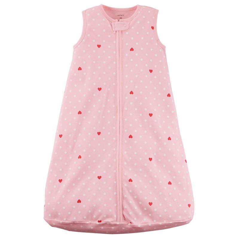 cheaper 92deb 439ea Carter's Little Baby Basics Girls Sleeveless Sleeping Bags ...