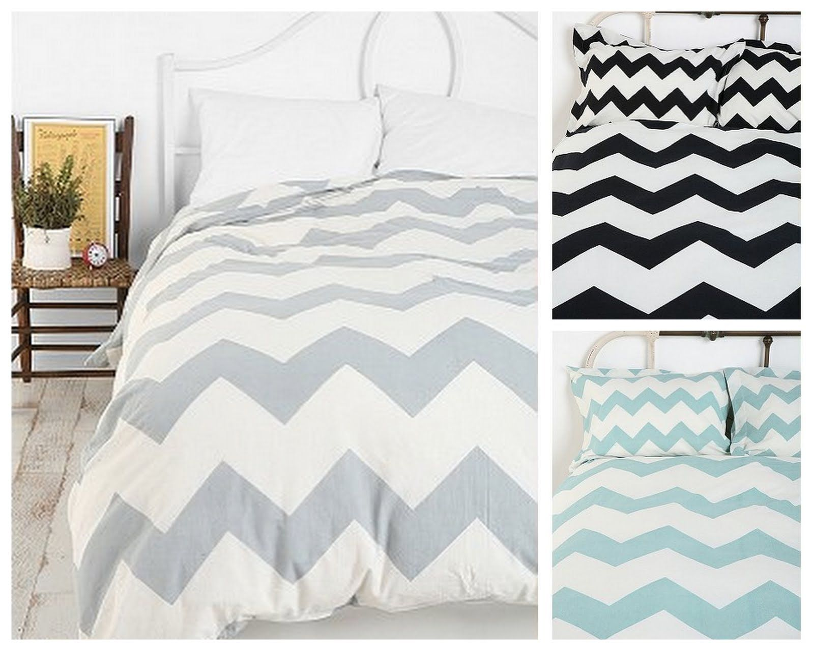 Chic Geek Uo Chevron Duvet Urban Outfitters Home Bedroom Home