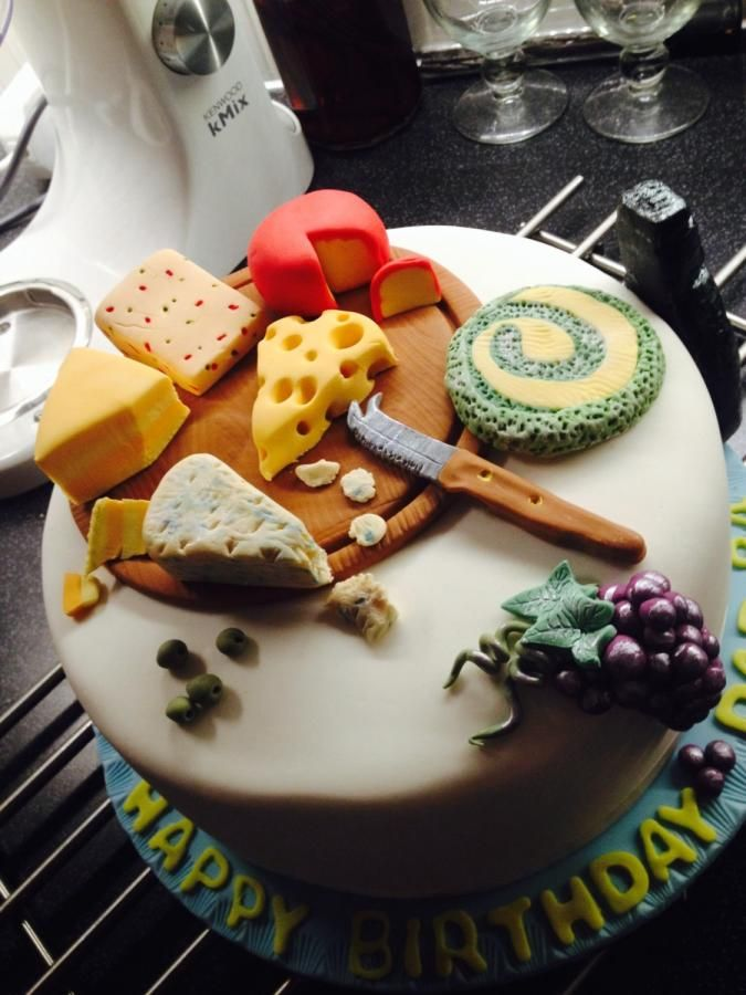 Cheese board cake Cakes Cake Decorating Daily Inspiration