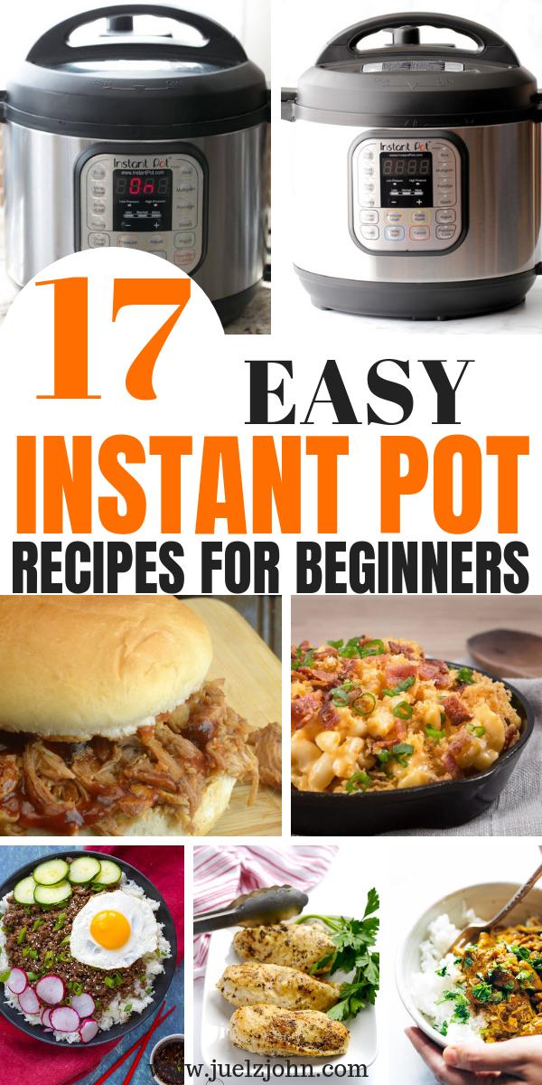 Healthy Instant pot recipes.Easy family dinners for busy nights. 17 Easy Instant pot recipes for beginners#healthyinstantpotrecipes#easyinstantpotrecipes# #instantpotrecipesforbeginners