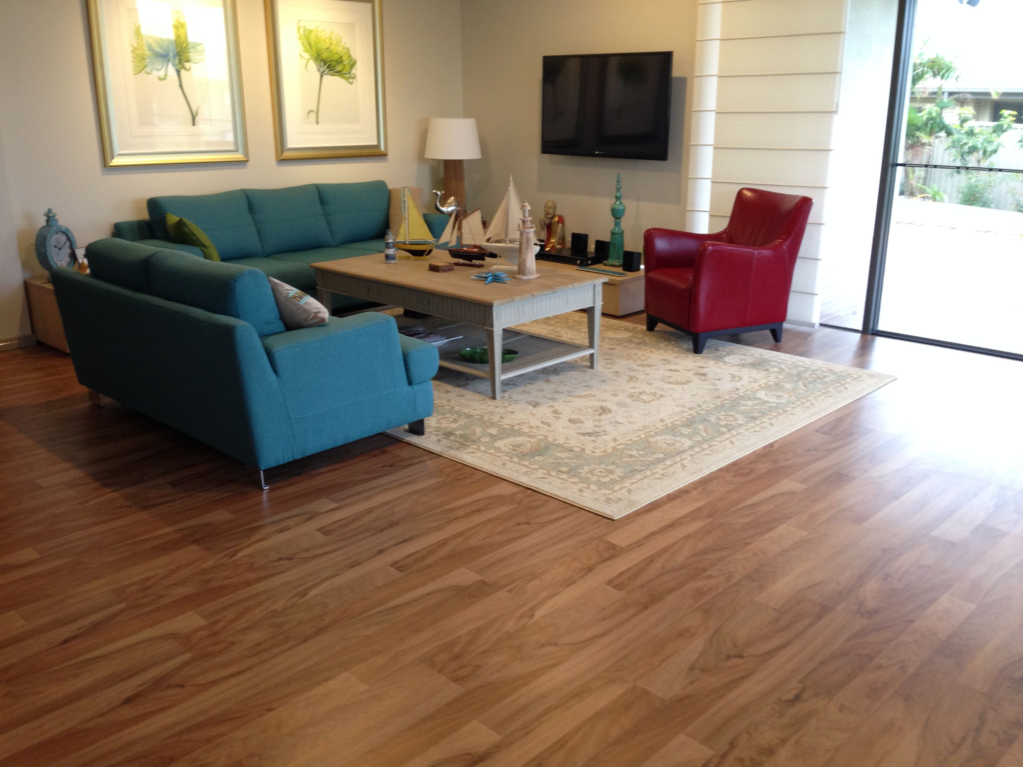 Fake Timber Flooring spotted gum laminate. ask for parador 1050 | laminate | pinterest