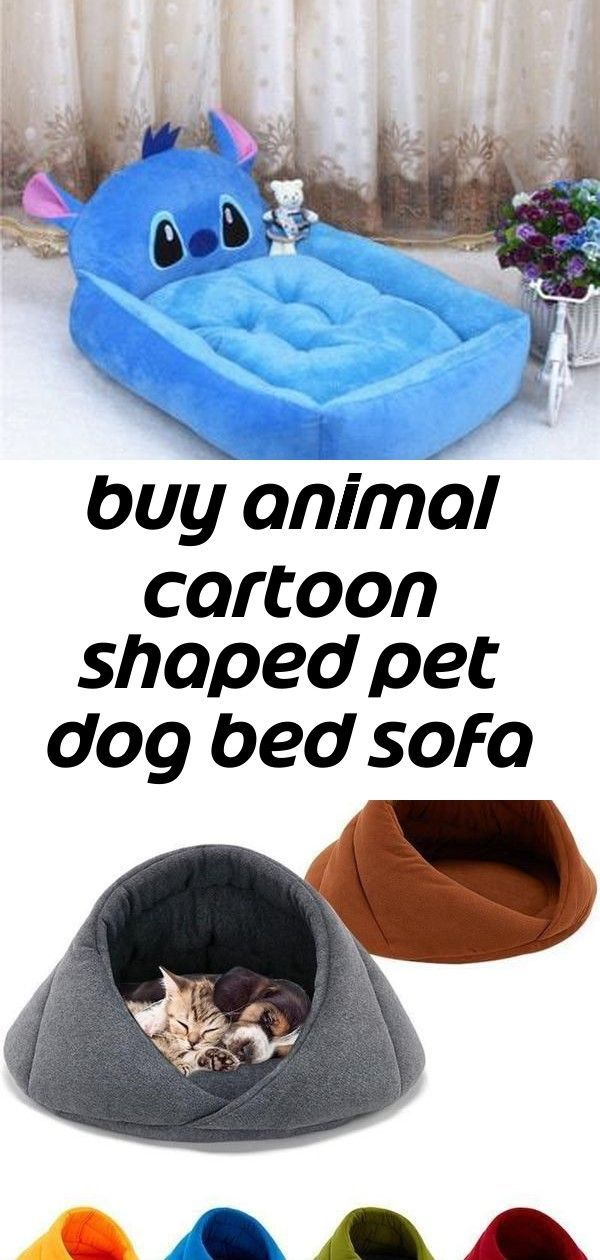 Buy animal cartoon shaped pet dog bed sofa kennels house