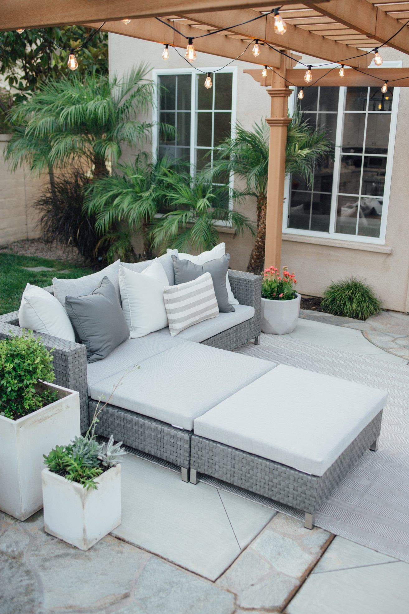 Backyard reveal huge outdoor furniture sale backyard