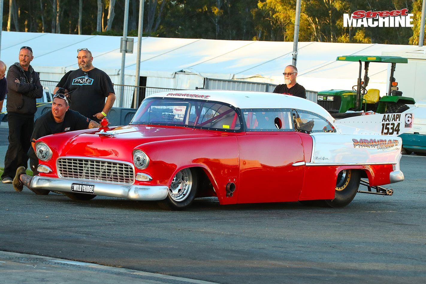 TERRY SENG RACES LES WINTER\'S 1955 CHEVY TOP DOORSLAMMER | Street ...