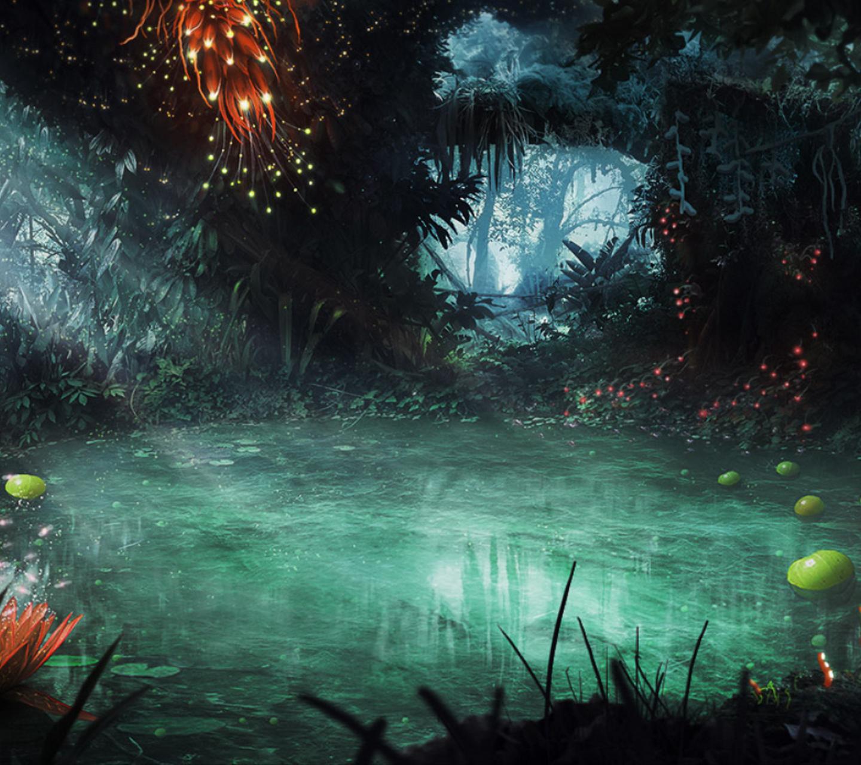 Image result for fantasy pond