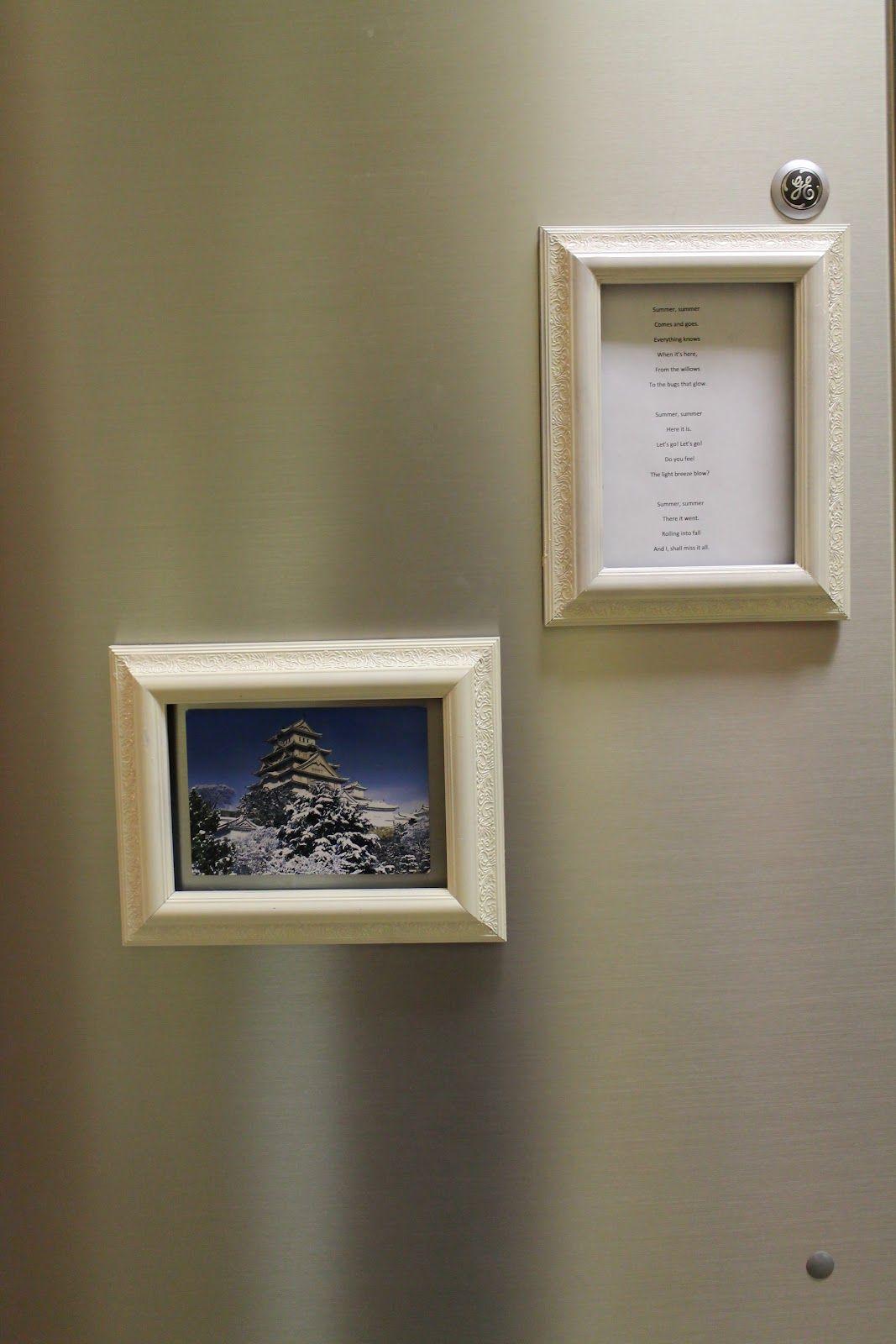 Very Easy Diy Fridge Magnetic Frames Magnet Strip W M Frame