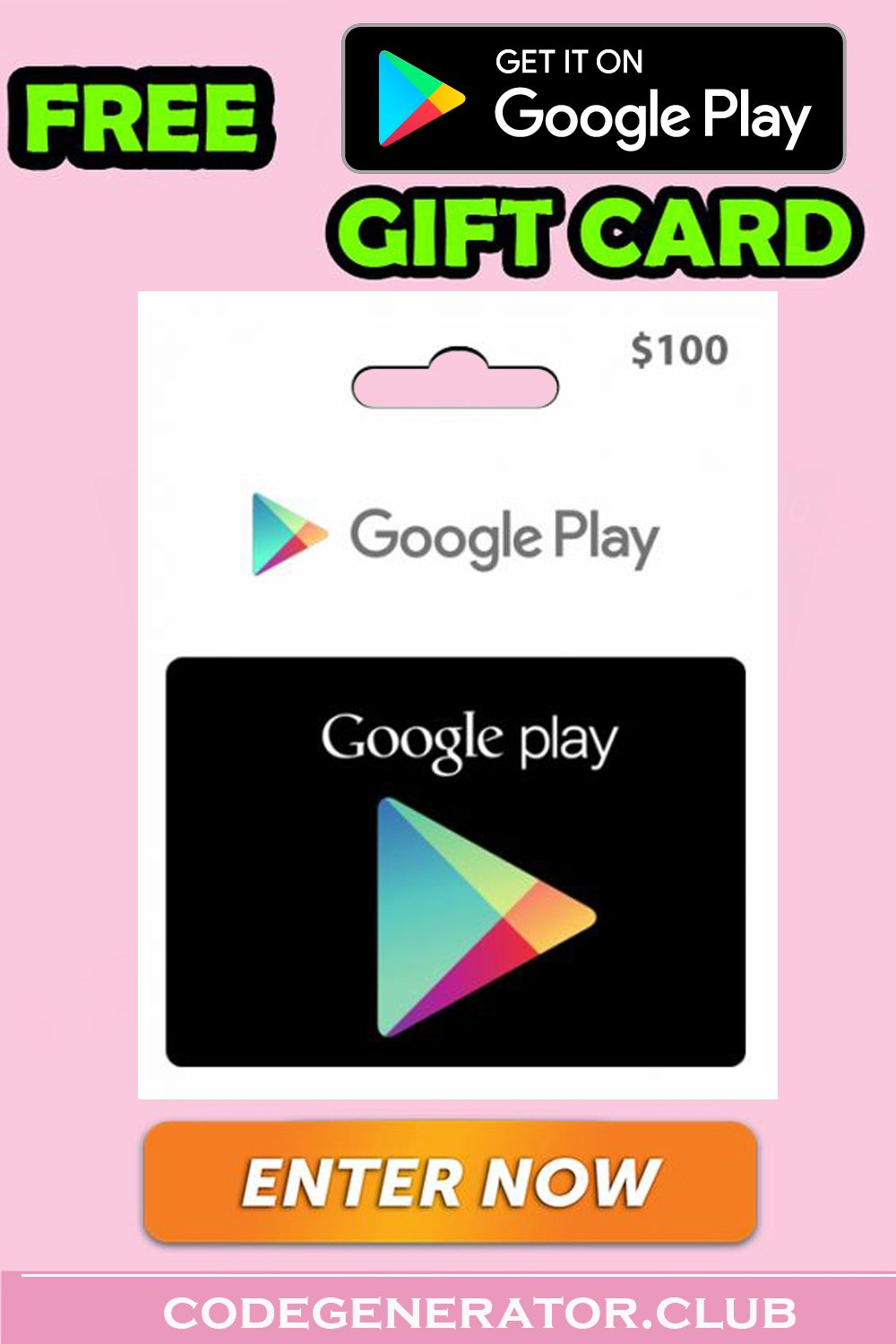 How To Get Free Google Play Gift Cards Google Play Gift Card Free Gift Cards Gift Card