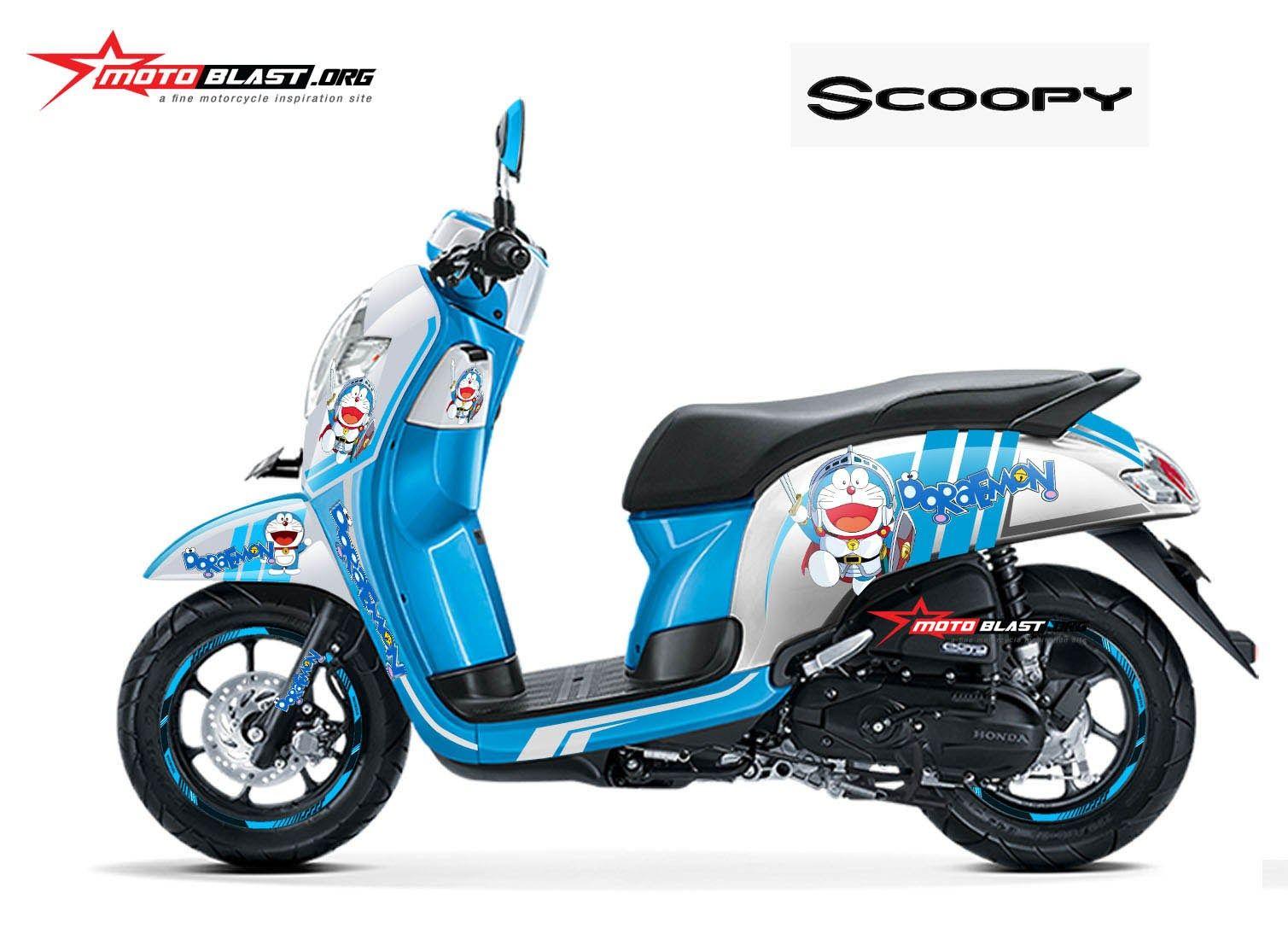 Modifikasi Motor Honda Scoopy Terbaru Motor Honda Honda Motor